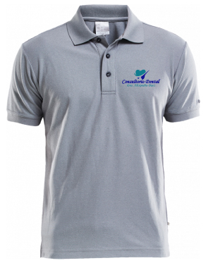 Polo Shirt de Pique Bordado